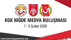 NİĞDE'DE 'KGK MEDYA BULUŞMASI'
