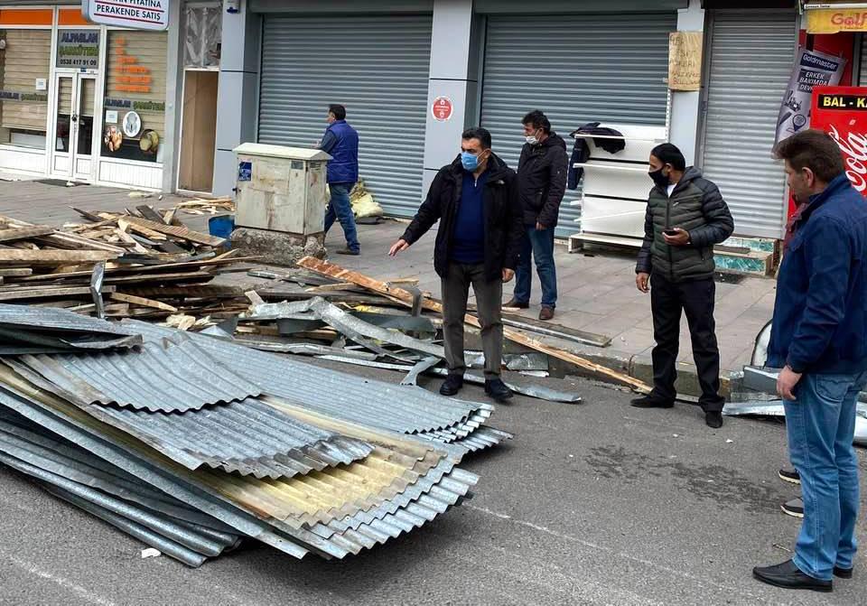 Başkan Demir'den fırtına uyarısı