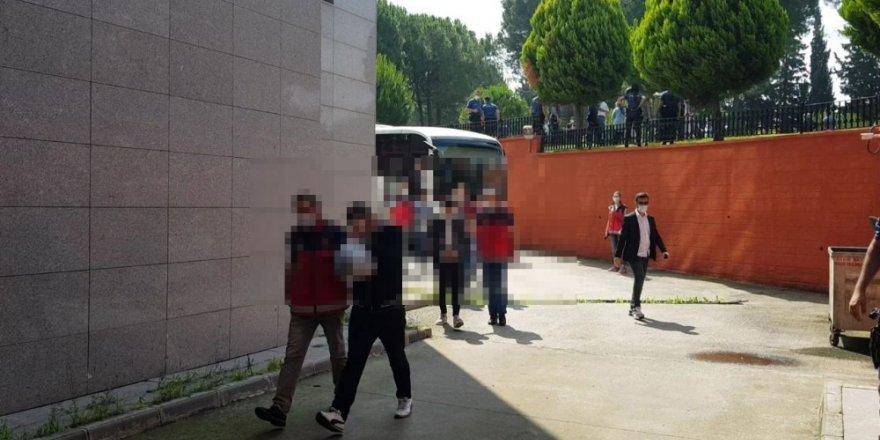 Gözaltına alınan 25 şüpheliden 13'ü tutuklandı