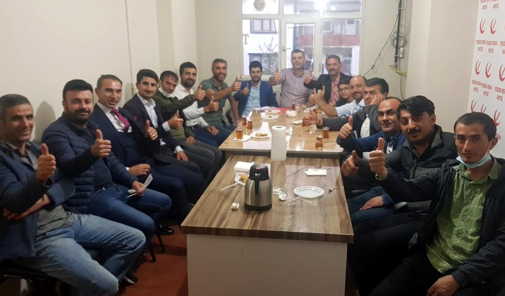 Yeniden Refah'ta kongre heyecanı