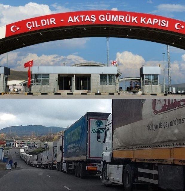 ERMENİLER'DEN TÜRK ARAÇLARINA SALDIRI