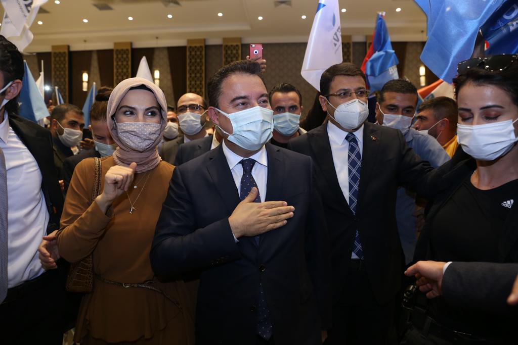 ALİ BABACAN, DİYARBAKIR'DAN MESAJ VERDİ