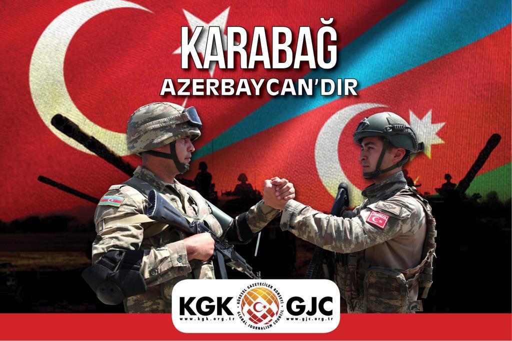 KGK: Karabağ'da 300 gazeteci mülteci konumuna düştü