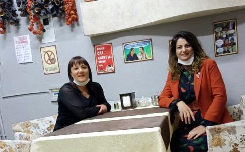 Zehra Öner'den girişimci kadınlara ziyaret