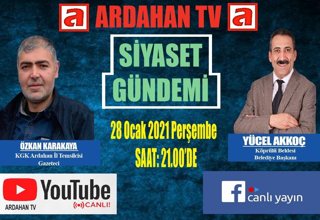 ARDAHAN TV YAYIN HAYATINA BAŞLADI