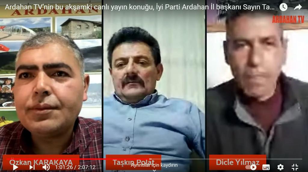 ARDAHAN TV'DE TAŞKIN POLAT RÜZGÂRI ESTİ