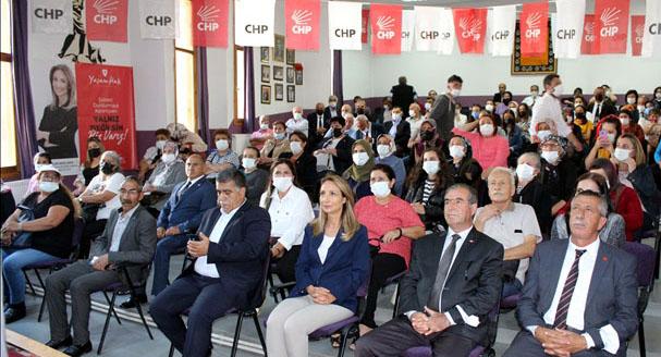 Ardahan CHP'de gündem, yangınlar ve uçaklar oldu