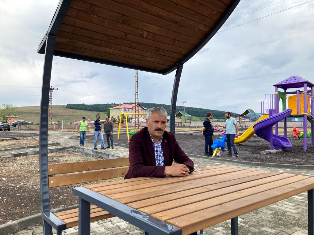 GÖLE SALİMBEY'E DOĞAL MODERN PARK