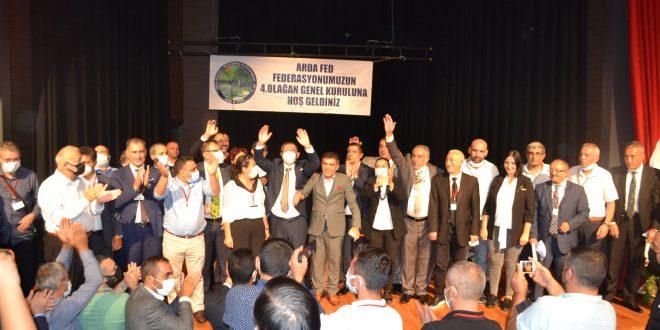 Orhan Çerkez, ARDAFED Başkanı oldu